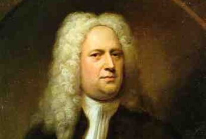 George Frideric Handel, the famous composer who once got in a sword fight